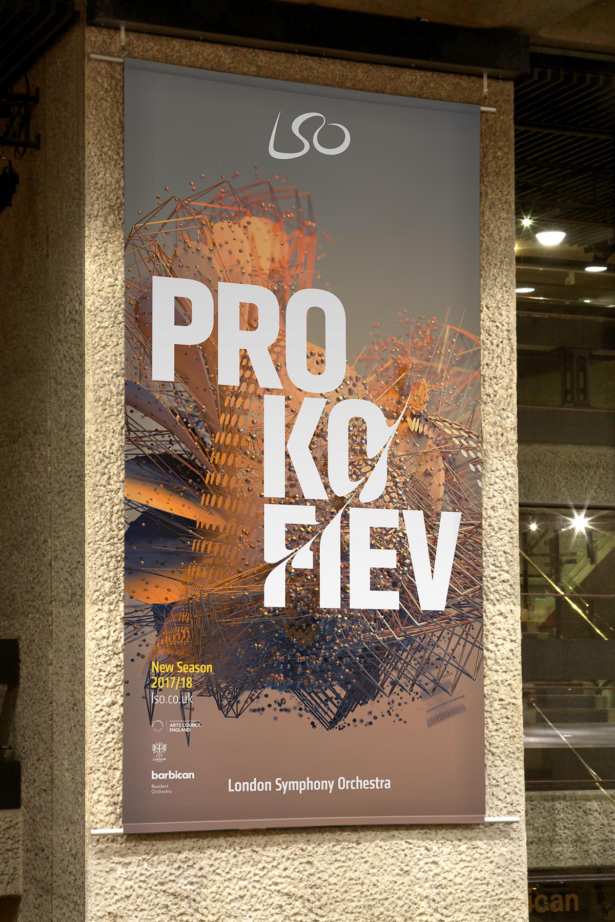 LSO Prokofiev poster