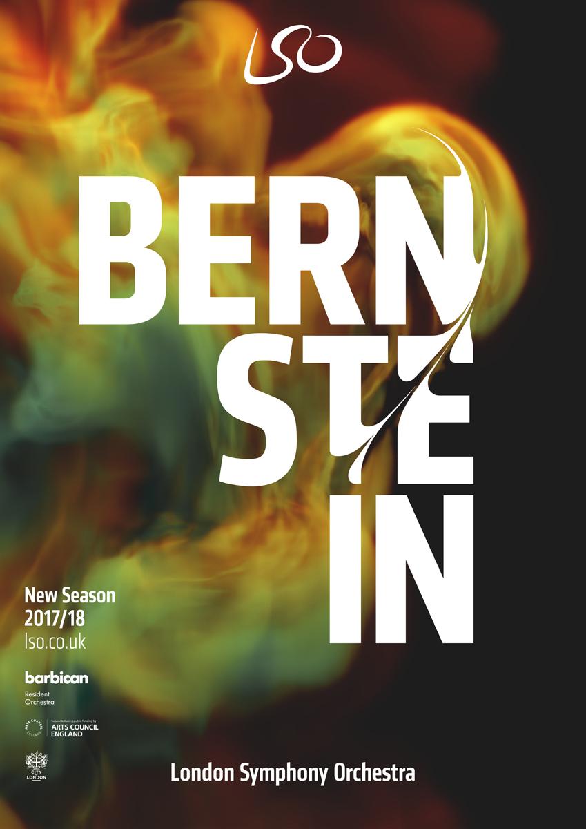 LSO poster Bernstein