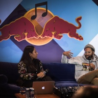 Kaytranada lectures at the Red Bull Music Academy in Montreal