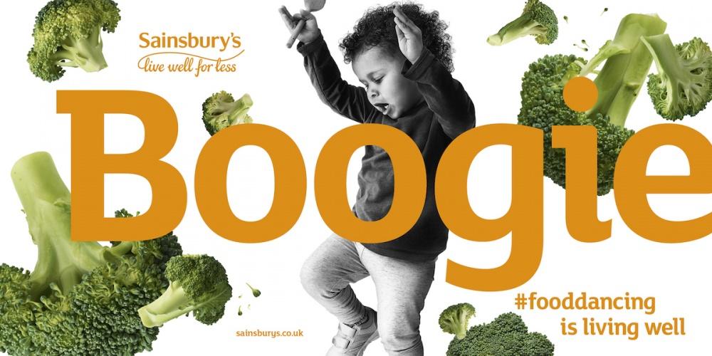 Sainsbury's Food Dancing ads