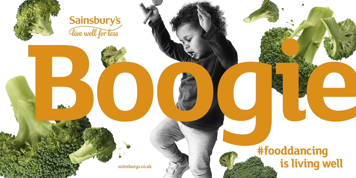 Sainsbury's Food Dancing ads