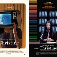 Posters for the film Christine, designed by Brandon Schaefer