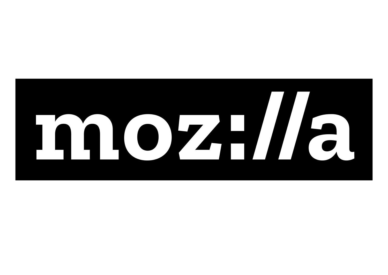 Mozilla's new logo, created using bespoke font Zilla