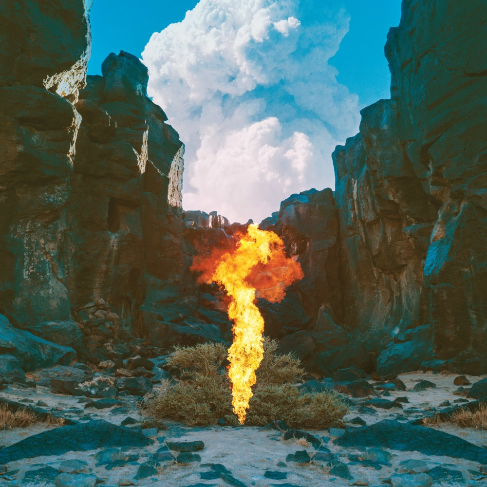 The cover of Bonobo's sixth album Migration, by Neil Krug