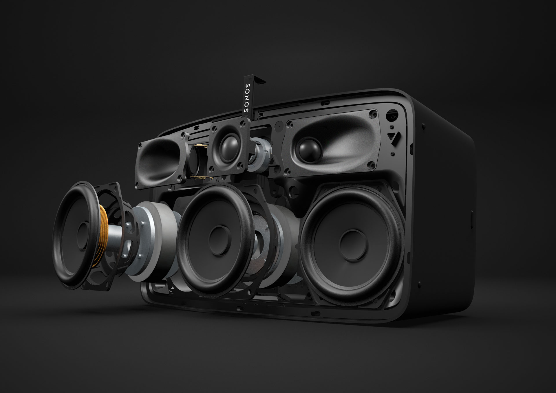 Sonos, exploded view
