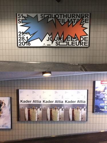 Poster designed by Raffinerie (top) and DIY (below). Image ©Dennis Moya