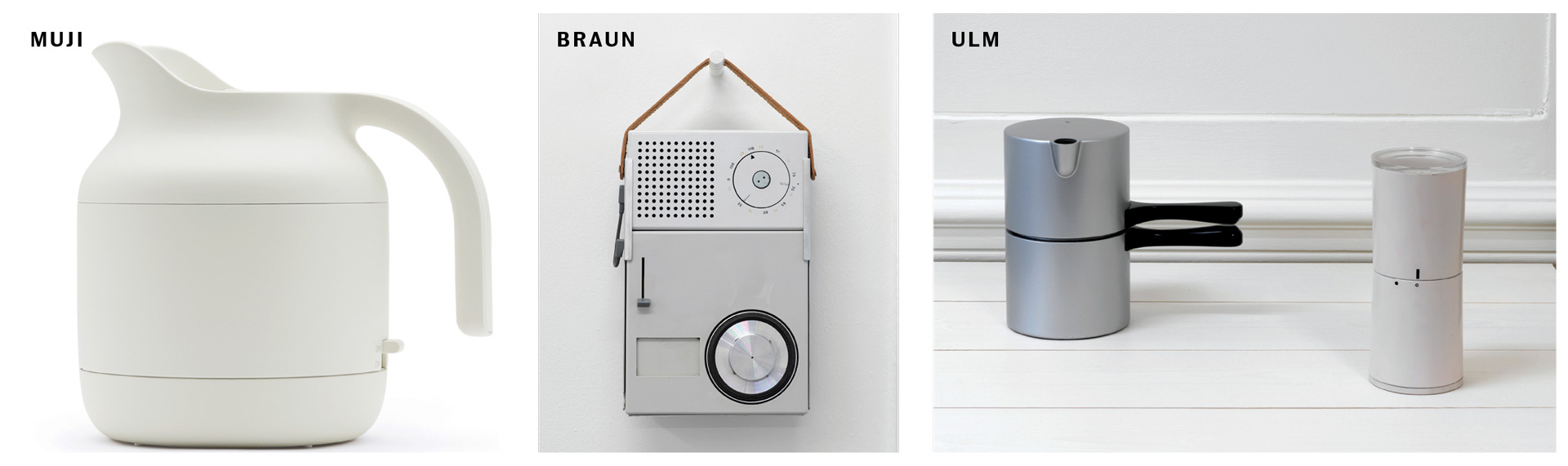 How muji brought the ulm school to the high street for Hfg ulm design