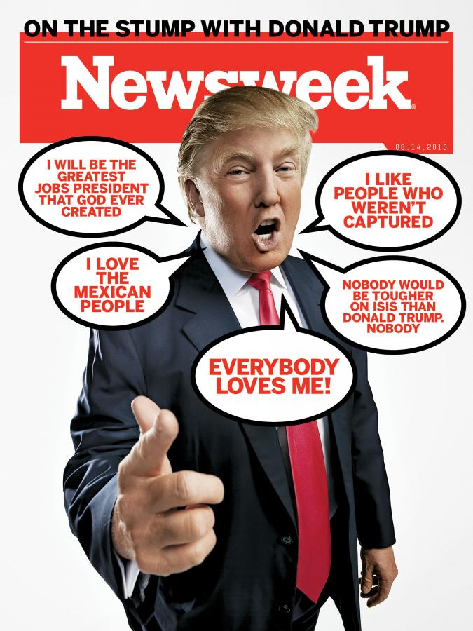 Newsweek cover from August 14 2015. Image via Newsweek