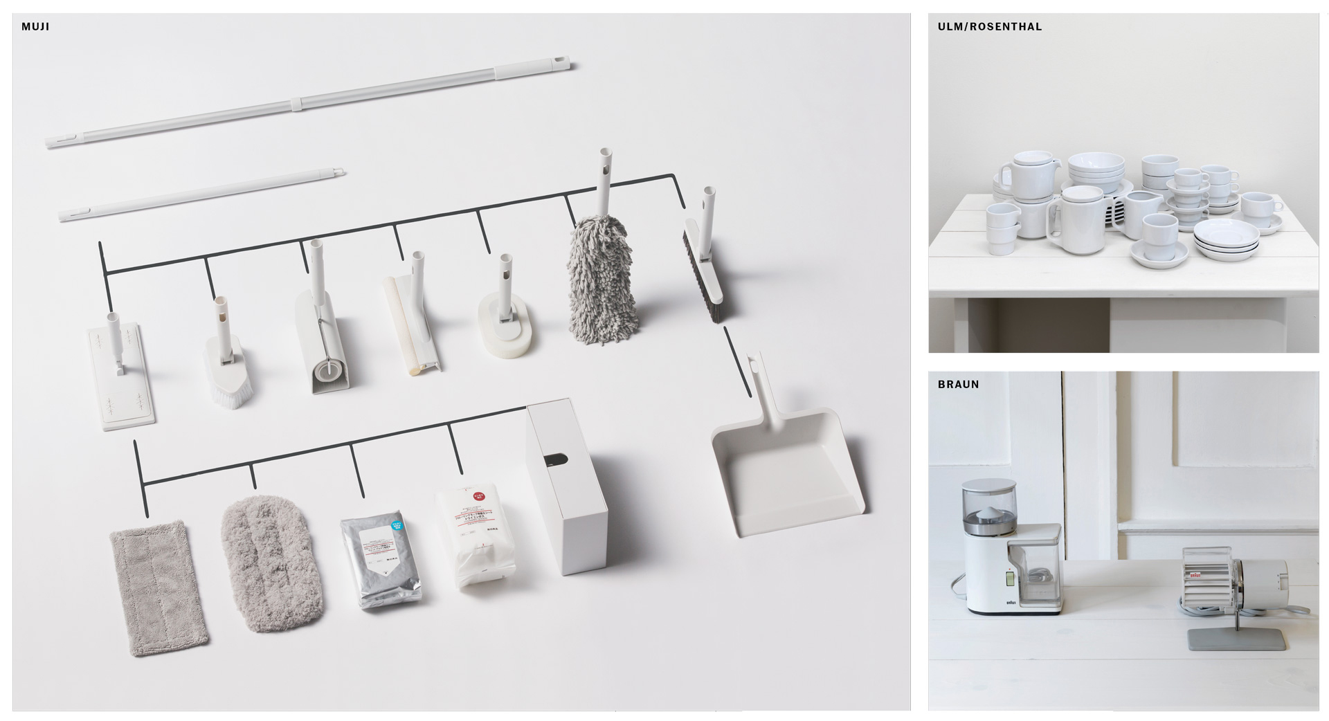How muji brought the ulm school to the high street for Decor systems