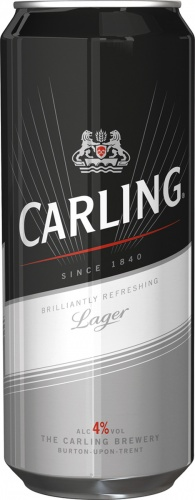 Previous Carling can design by Echo, 2011