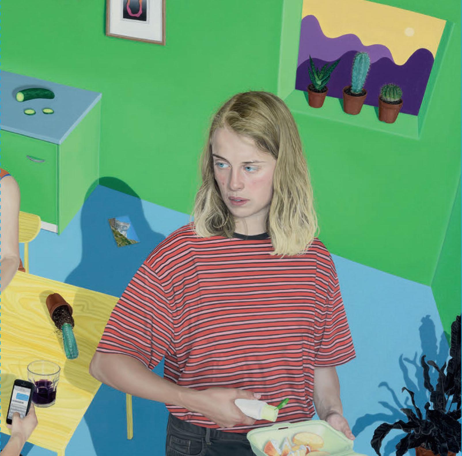 Tristan Pigott S Artwork For Marika Hackman Album I M Not