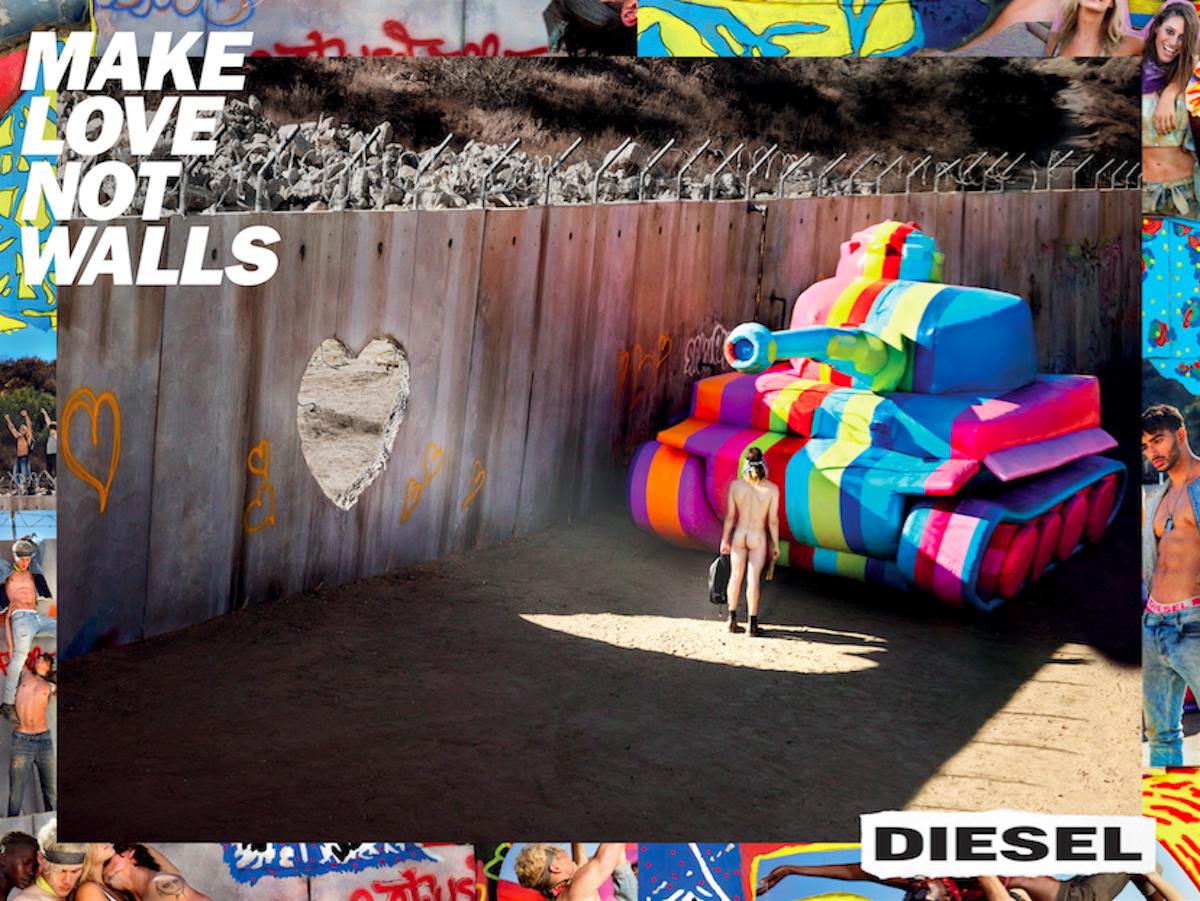Diesel Make Love Not Walls