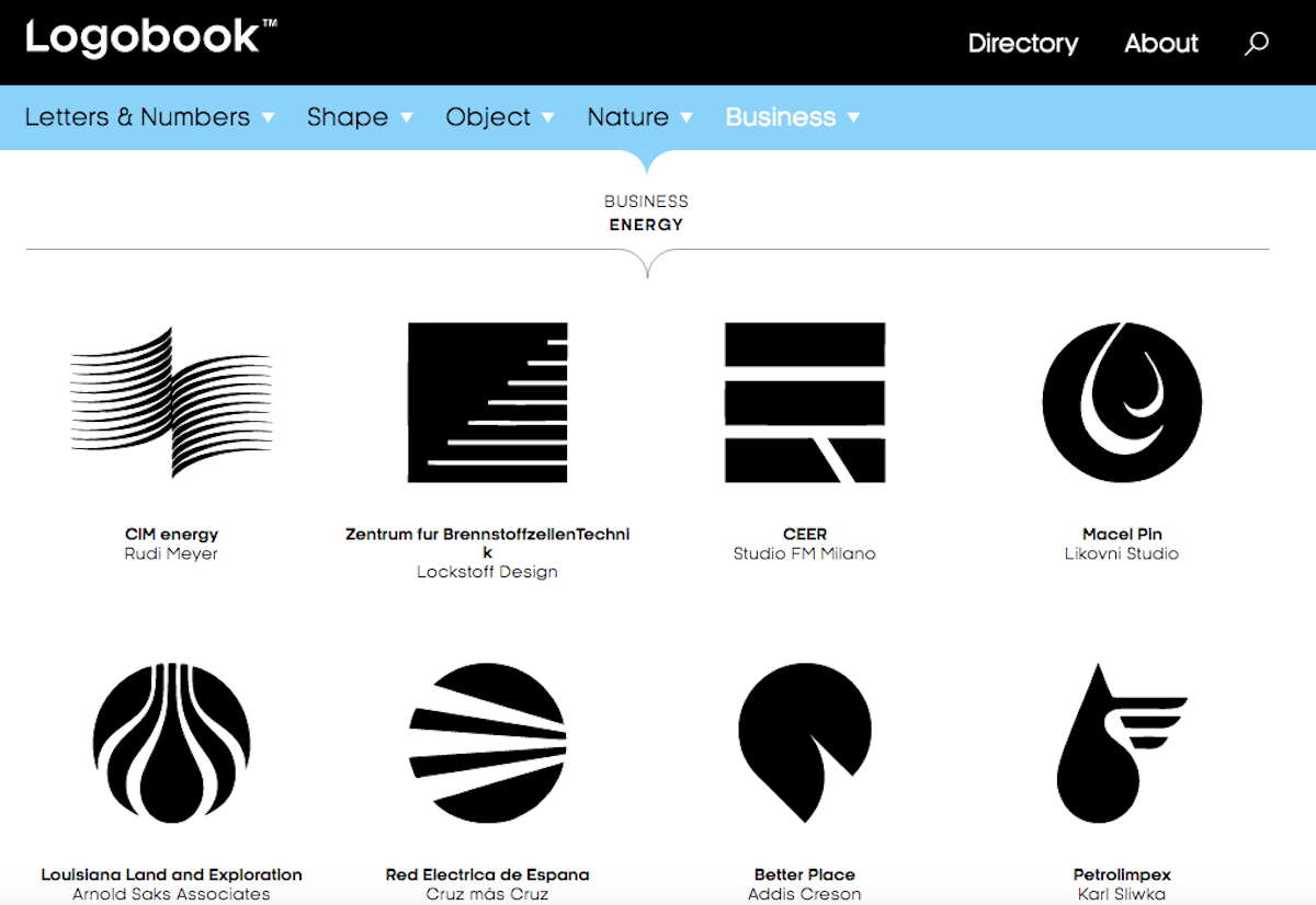 New website Logobook archives logos going back to the 50s