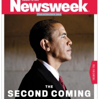 Newsweek's January 18 2013 cover features the biblical headline The Second Coming