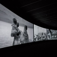Richard Mosse Incoming Barbican Curve