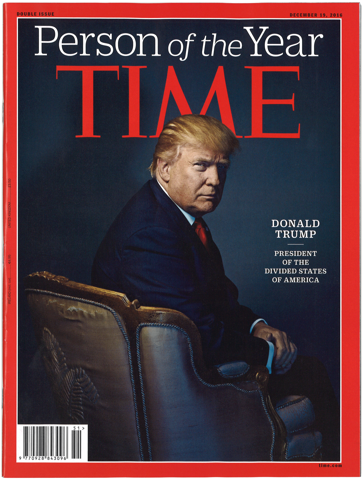 Time magazine's December 19 issue