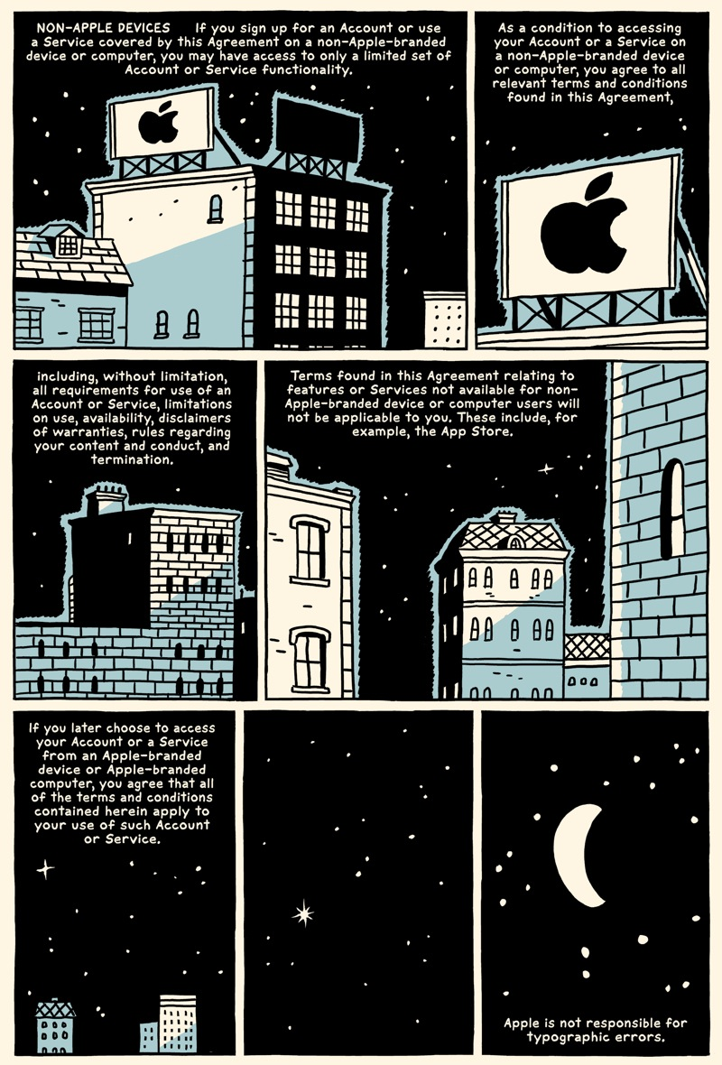 Terms And Conditions The Graphic Novel