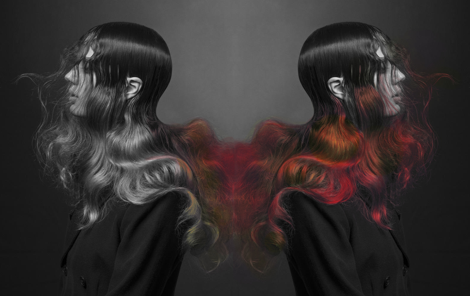 This Hair Dye Changes Color Depending on Your Environment