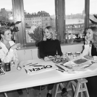(l-r): Open founders Eva Aggerborg, Helena Carlberg and Sara Hilden-Bengtsson