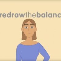 Inspiring Girls Redraw The Balance ad