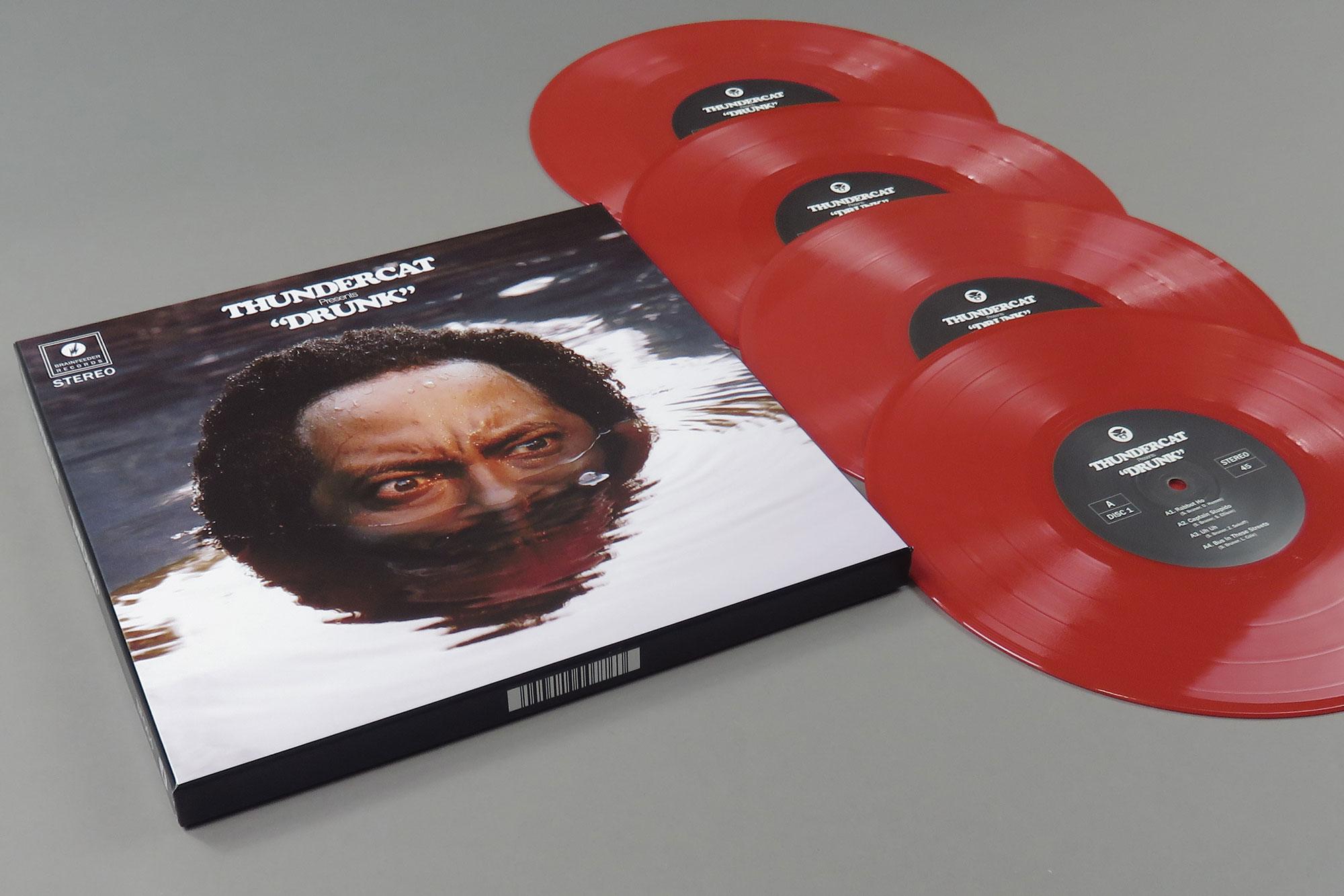 Deluxe vinyl box set. Image: Bleep