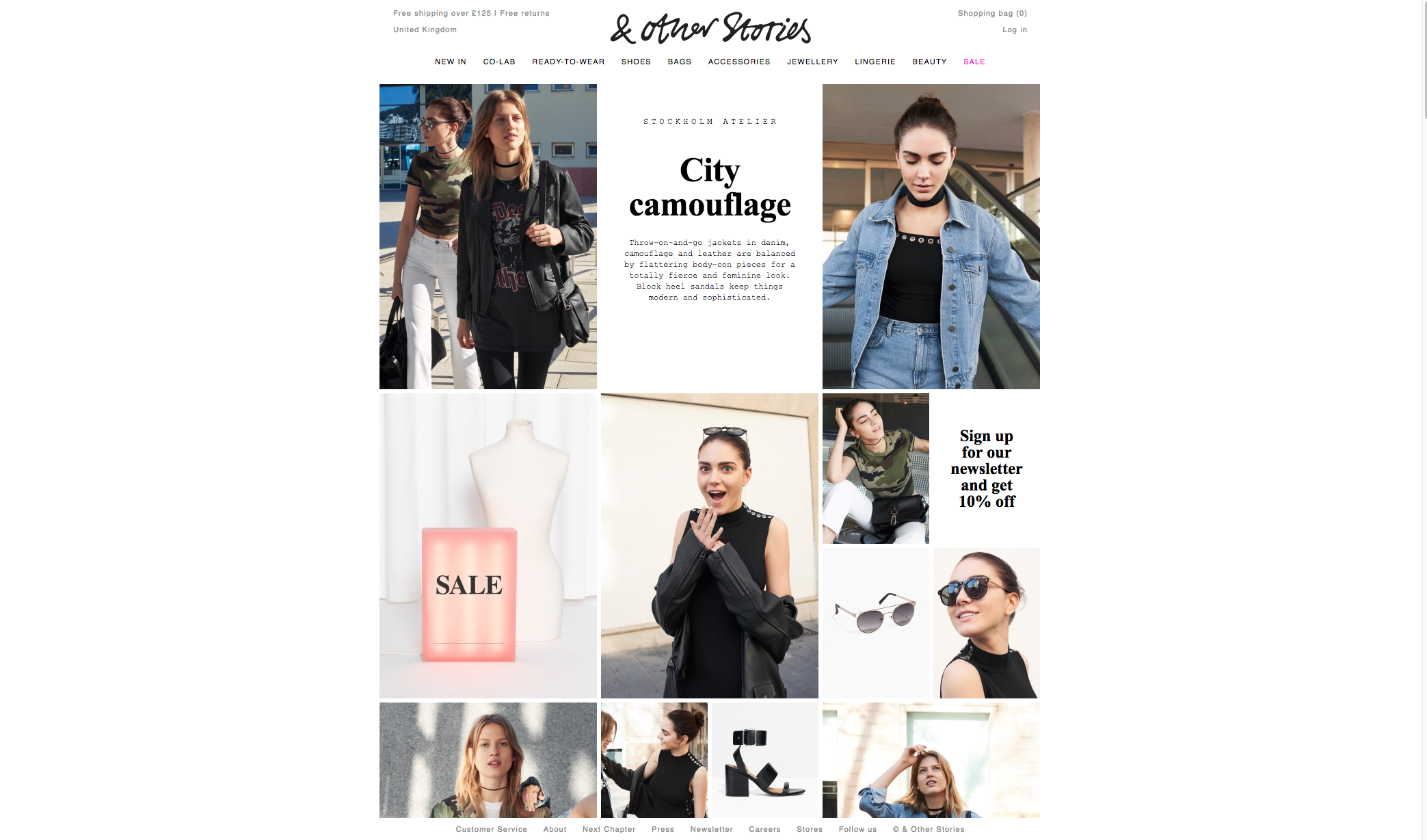 & Other Stories website