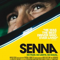 Senna film poster, designed by Creative Partnership