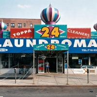 Toppa Cleaners – 172‐12 Hillside Avenue, Hollis, Queens, July 2003, by Joel Sternfeld