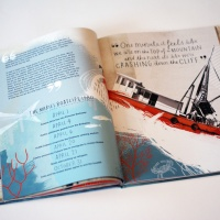 Stormy Seas, written by Marybeath Leatherdale and illustrated by Eleanor Shakespeare
