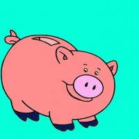 David Burrows, Piggy Bank, 2017