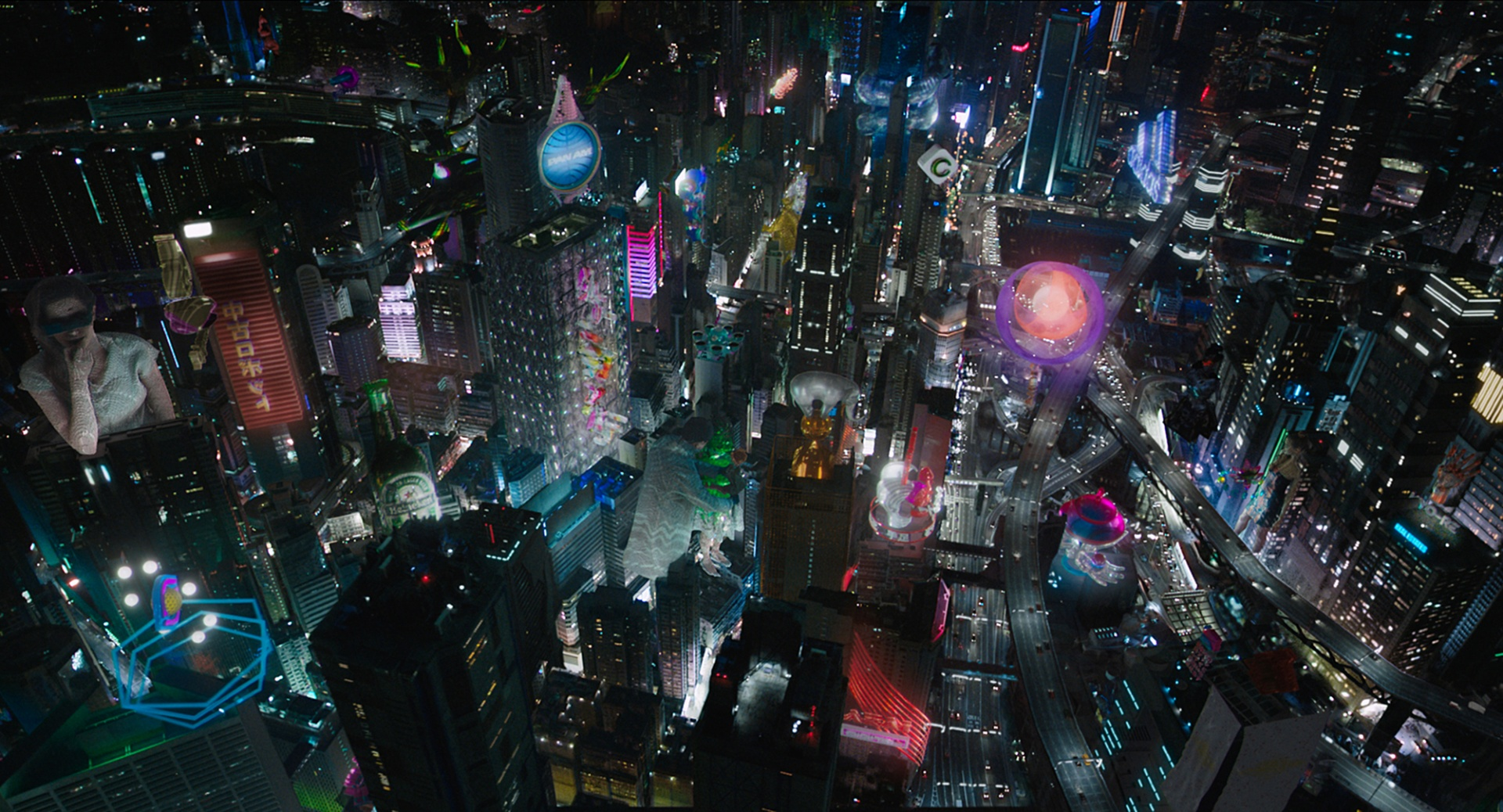 Ghost In The Shell Creating A Hybrid World