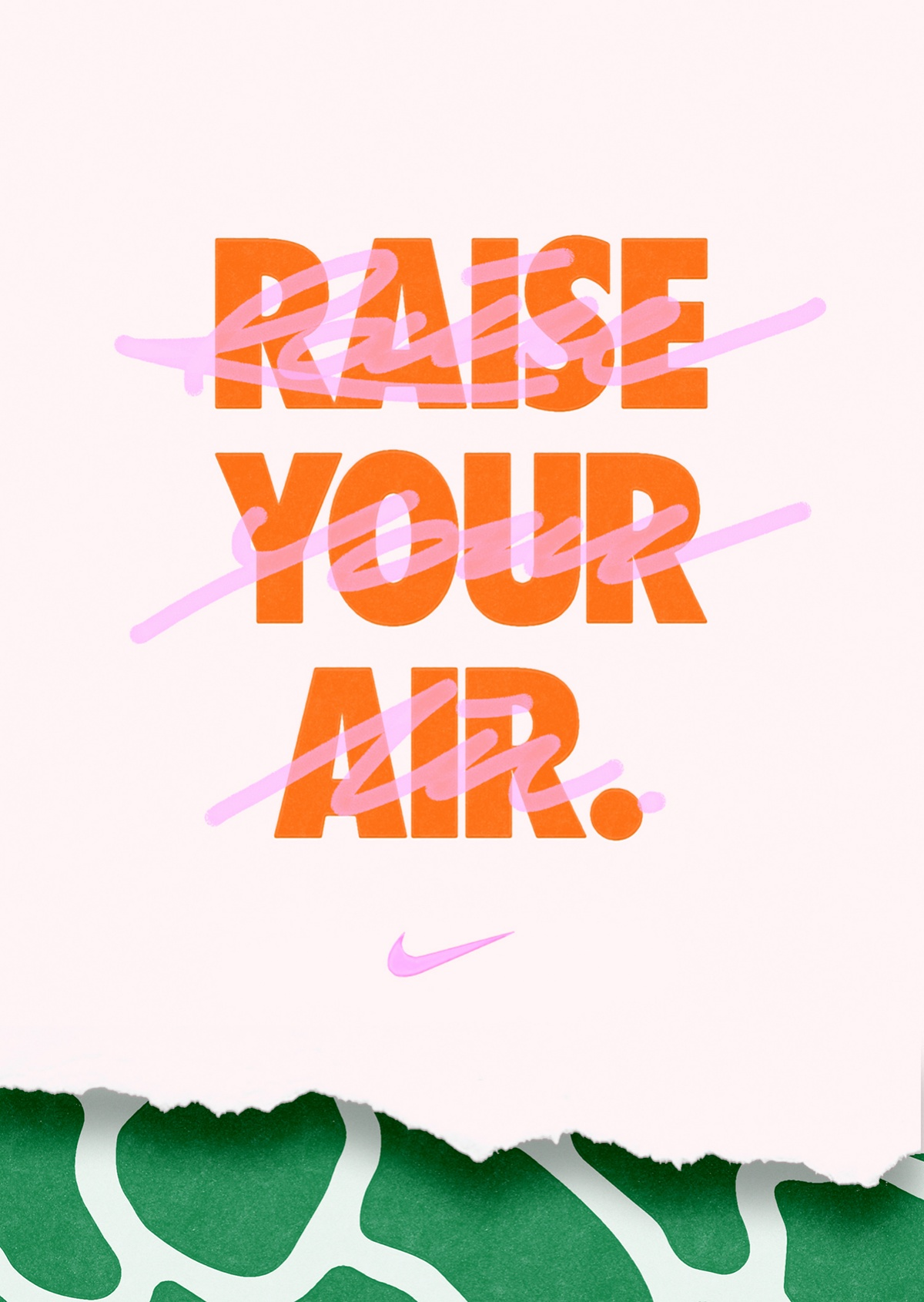 73e66561ac7 ... bubble in Nike s famous shoe. Films and graphics combine witty one  liners with photography and illustrations that hint at the history of the Air  Max.