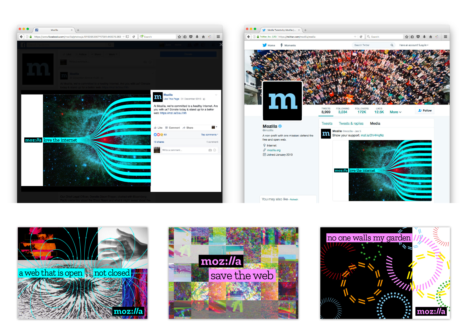johnsonbanks' new branding for Mozilla. Read more about the open design process here