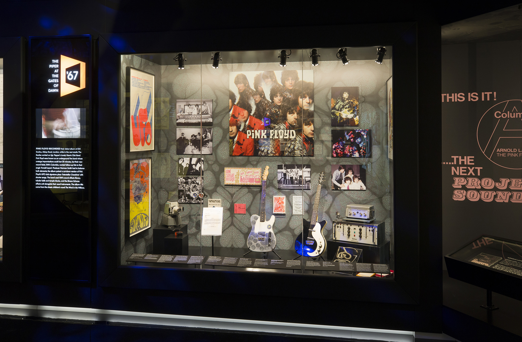 10 things to see at the V&A's new Pink Floyd Exhibition