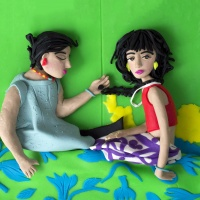 Magnum Photos in Play-Doh by Eleanor Macnair
