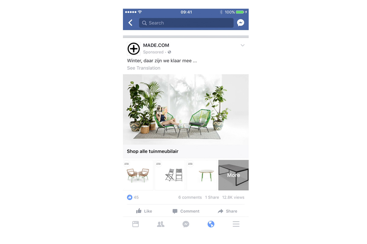 A guide to using Facebook's 'Collection' ad format