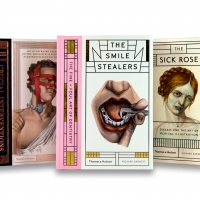 Covers of The Sick Rose, Crucial Interventions and The Smile Stealers