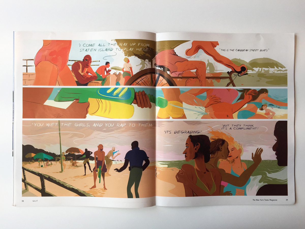 The New York Times Magazine's all-comics special – Creative
