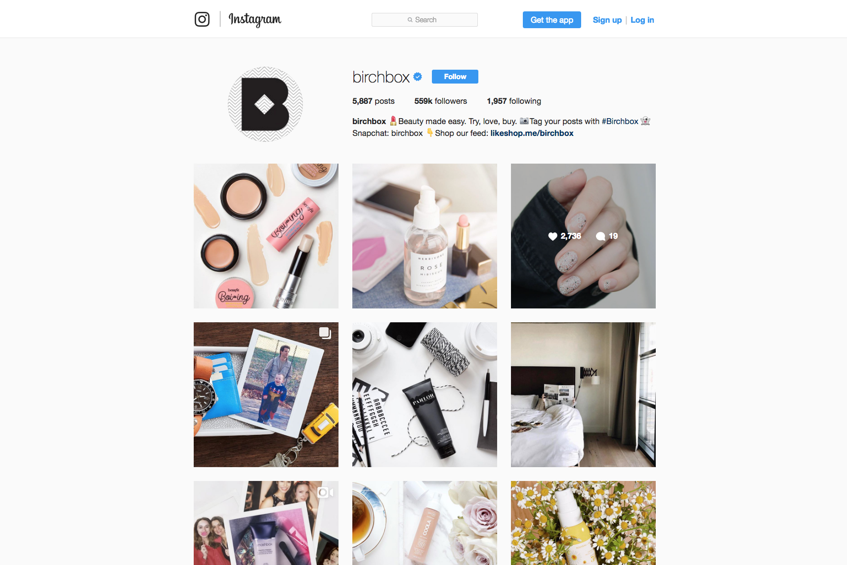 how to create instagram beauty account