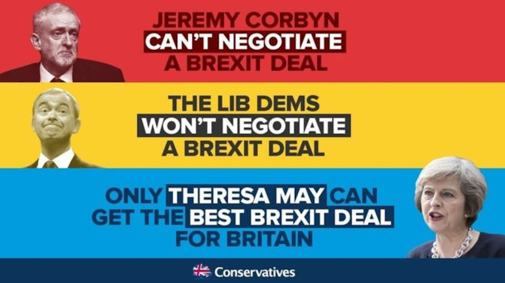 Tory Facebook ad