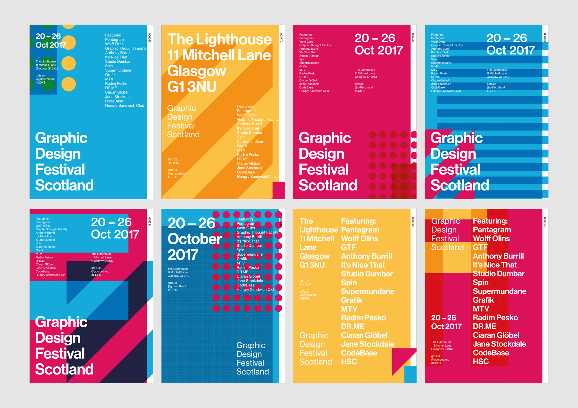 Poster design 2017 - Some Of The Posters Created For Gdfs So Far