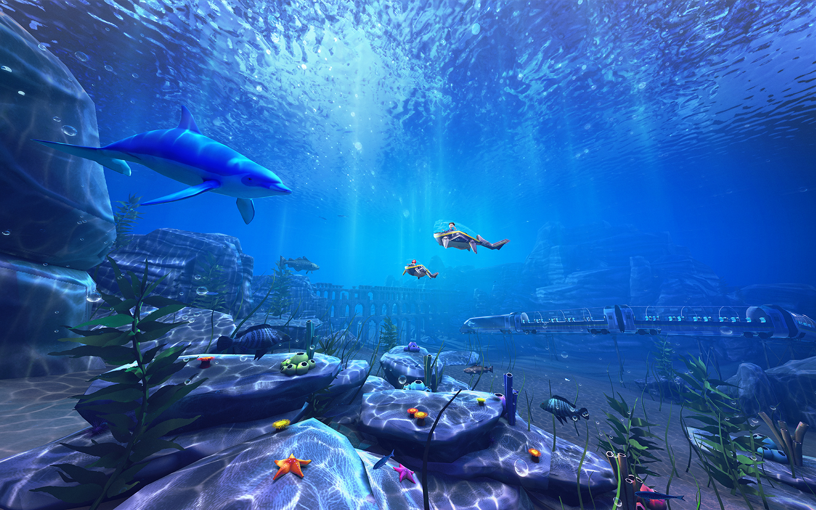 New AKQA VR experience reveals the hidden underwater seascapes of Eurostar journeys