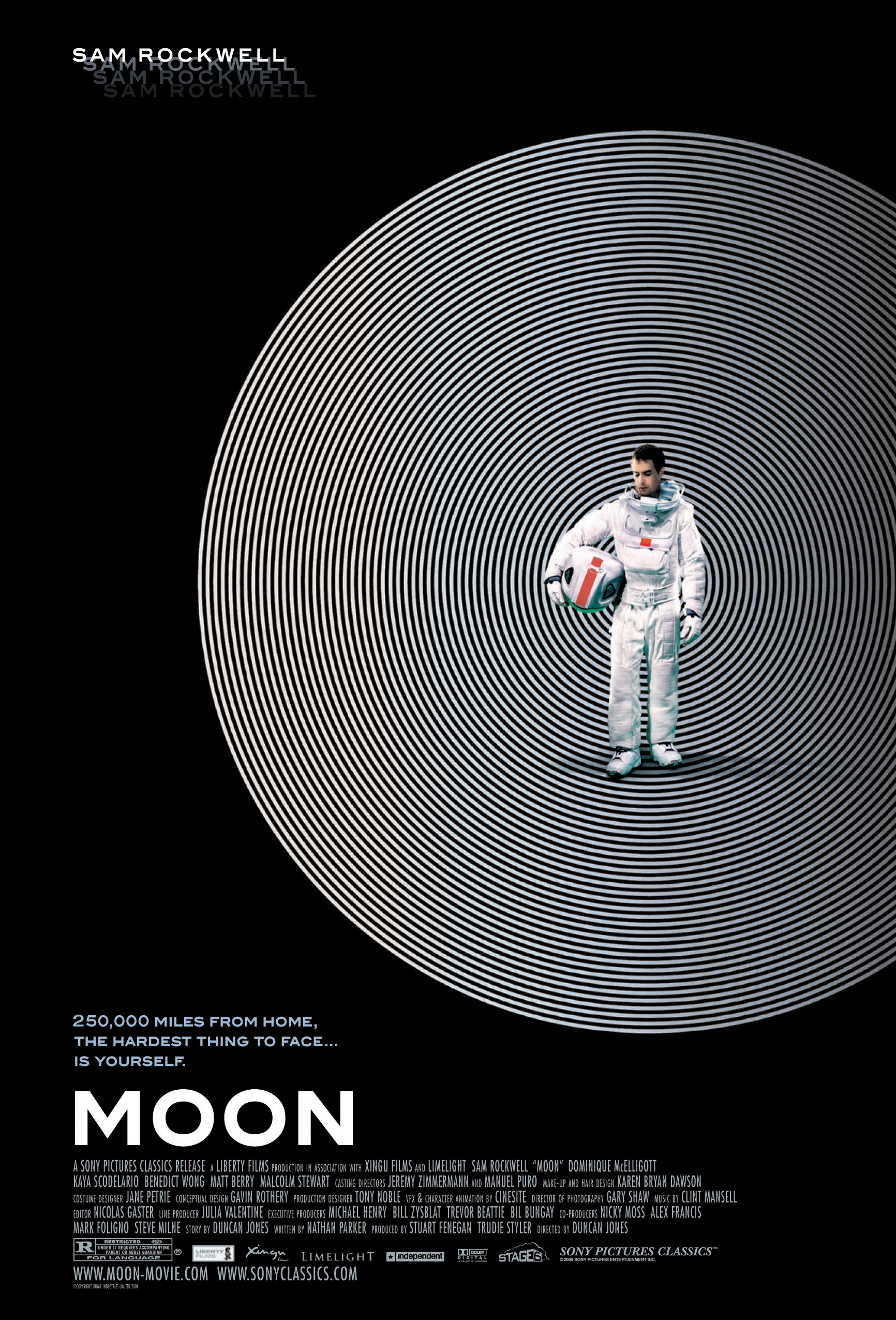 Design poster yourself - The Poster For Duncan Jones Film Moon Designed By Cardinal Communications Usa Image Via Liberty Films