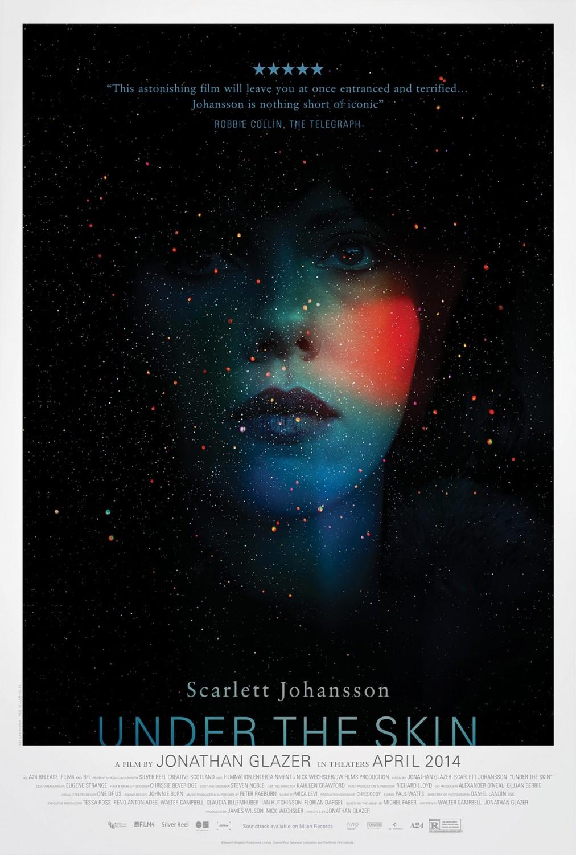 Neil Kellerhouse's poster for Jonathan Glazer film Under the Skin. Image: IMP Awards