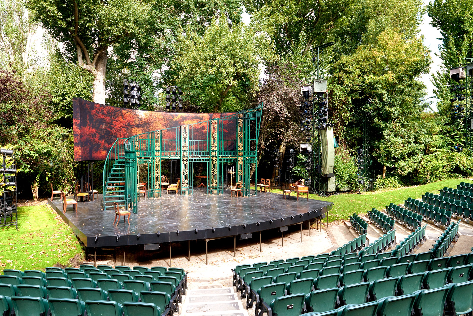 Open Air Stage Design