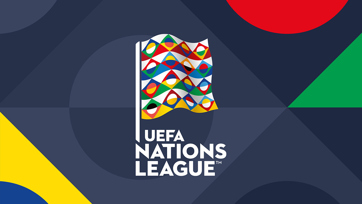 UEFA Nations League identity from Y&R Branding