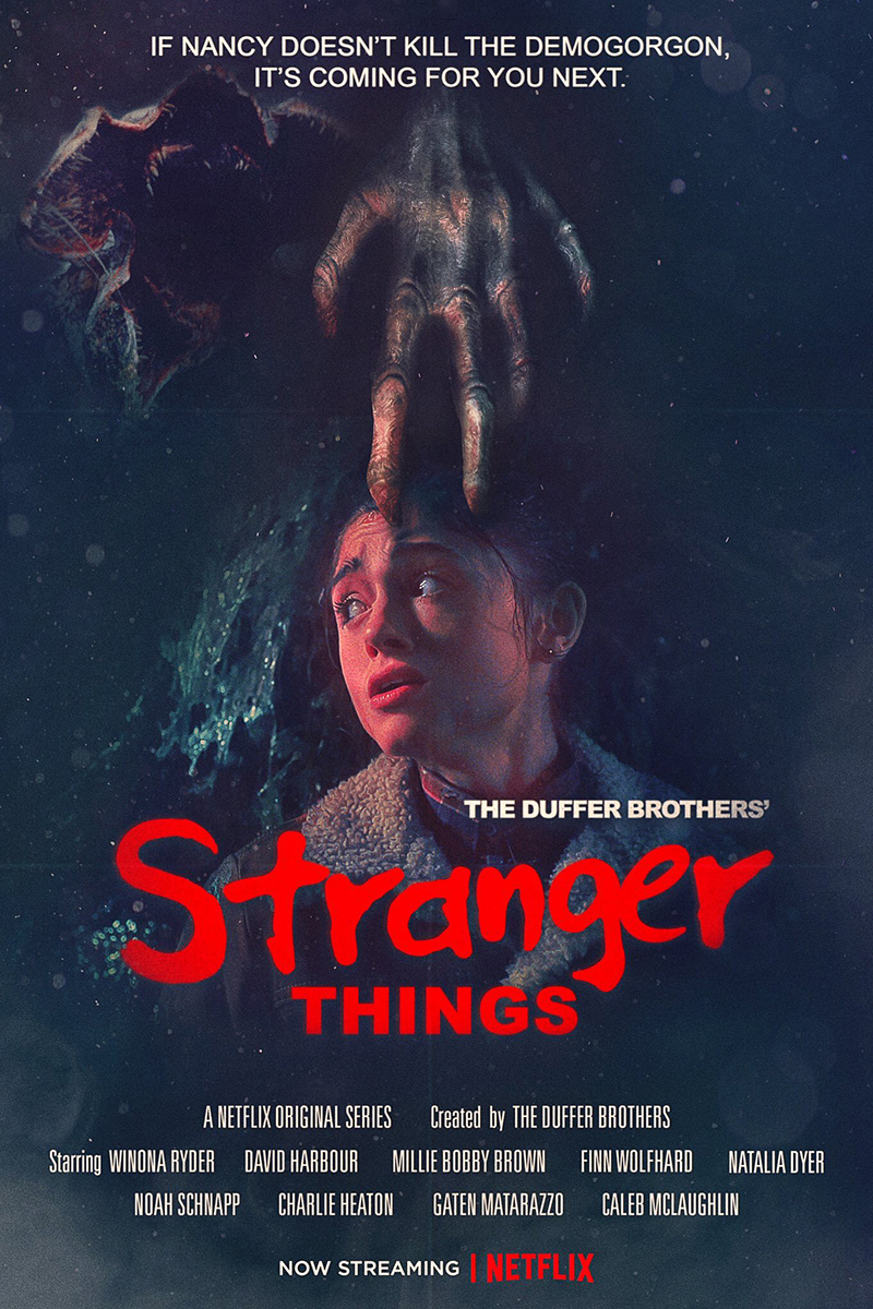 netflix reimagines classic 80s horror movie posters for