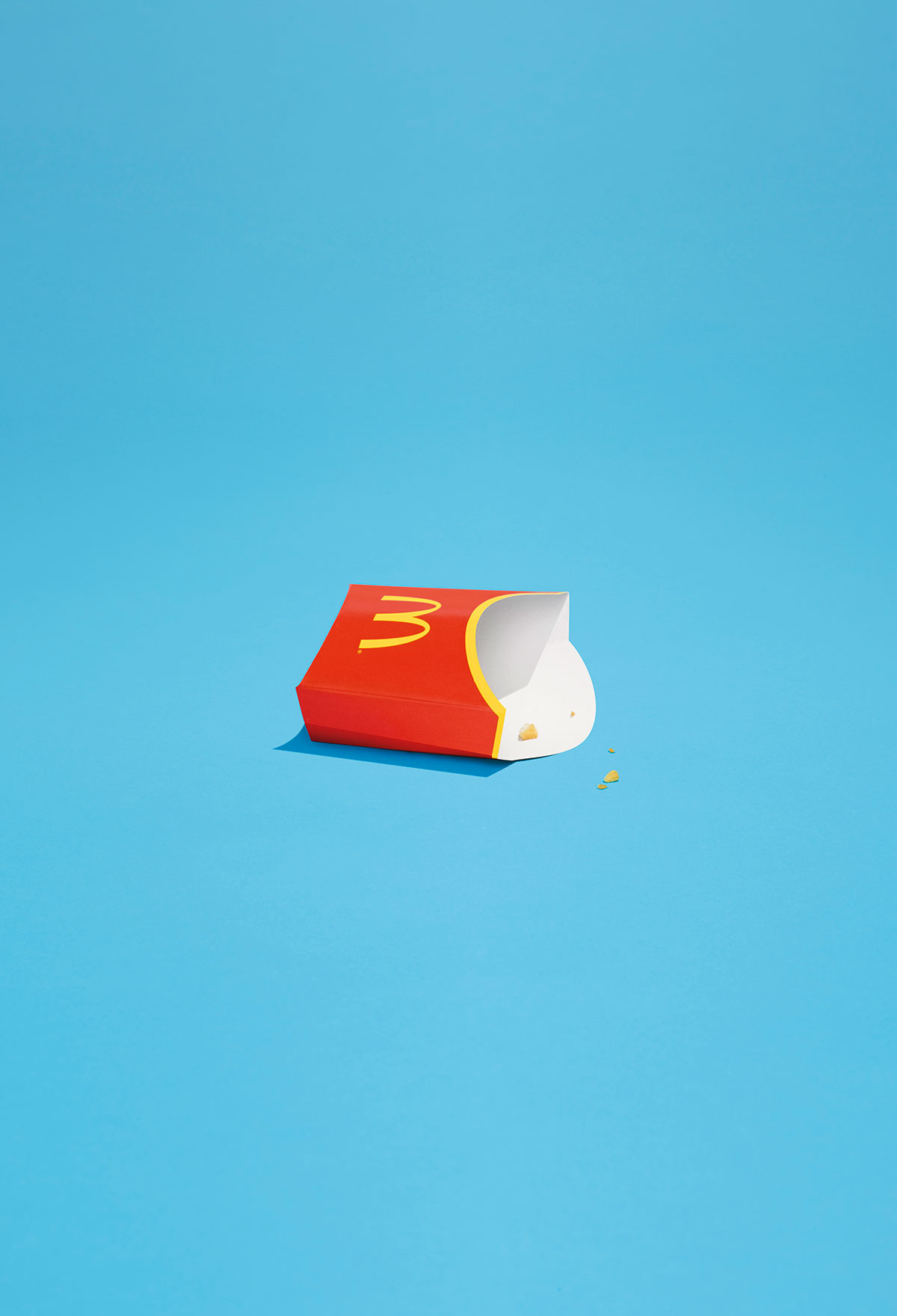 More minimalism from McDonald's
