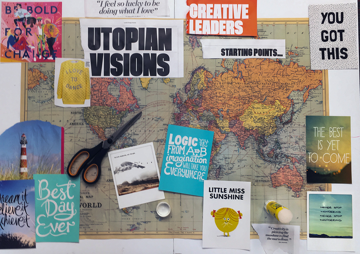 How creating a vision board can help achieve your goals