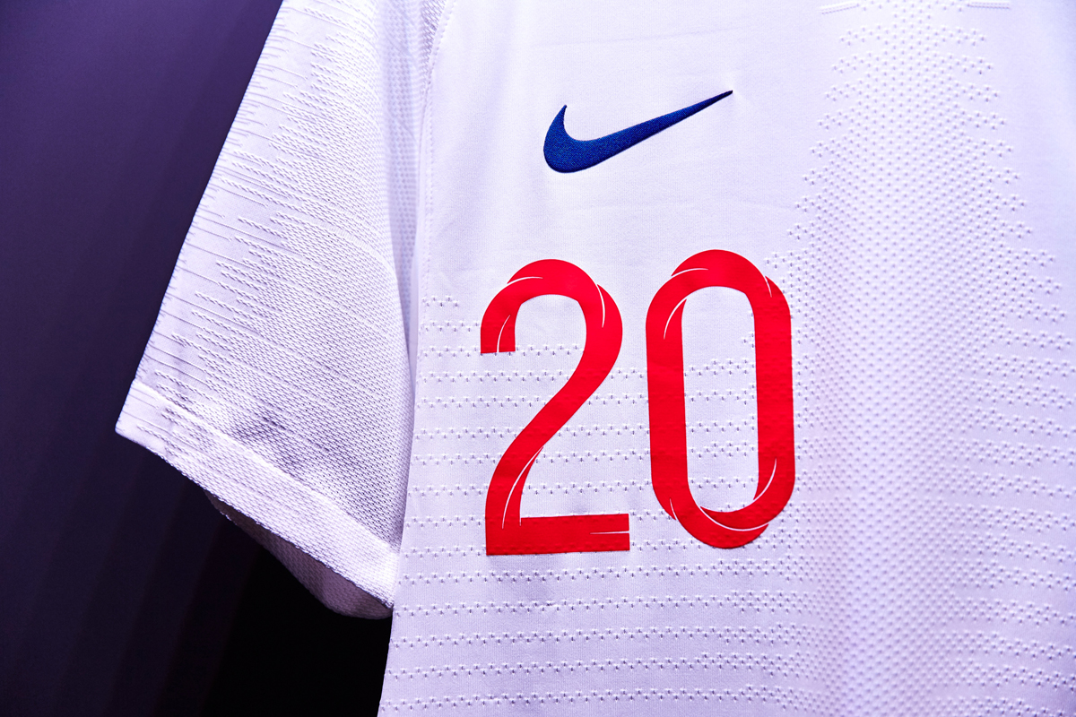 England kits for 2018 World Cup released – Creative Review b1d8c5f72
